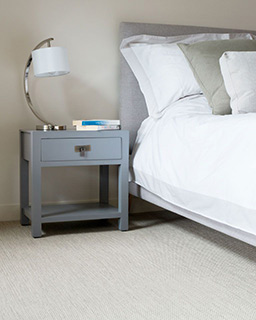 Atacama fitted flooring in a bedroom (Unnatural Flooring range - UF1017)