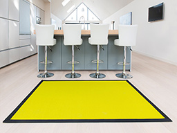 Vibrant kitchen rug in Lime (Unnatural Flooring range - UF1020)