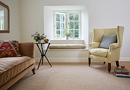 Stamford fitted flooring in the snug (New England range - NE6003)