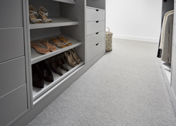 Walk in wardrobe with Central flooring (New York range - NY9001)