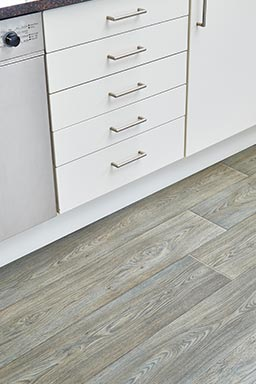 Walnut wood effect vinyl flooring (Unnatural Wood - UW5003)